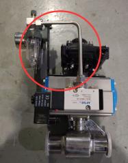 气动球阀为什么需要不锈钢接管件连接?