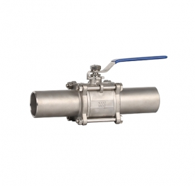 宁波焊接加长型球阀ZMQ61F